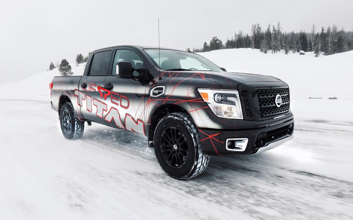 factory-authorized lift kit for TITAN and TITAN XD trucks