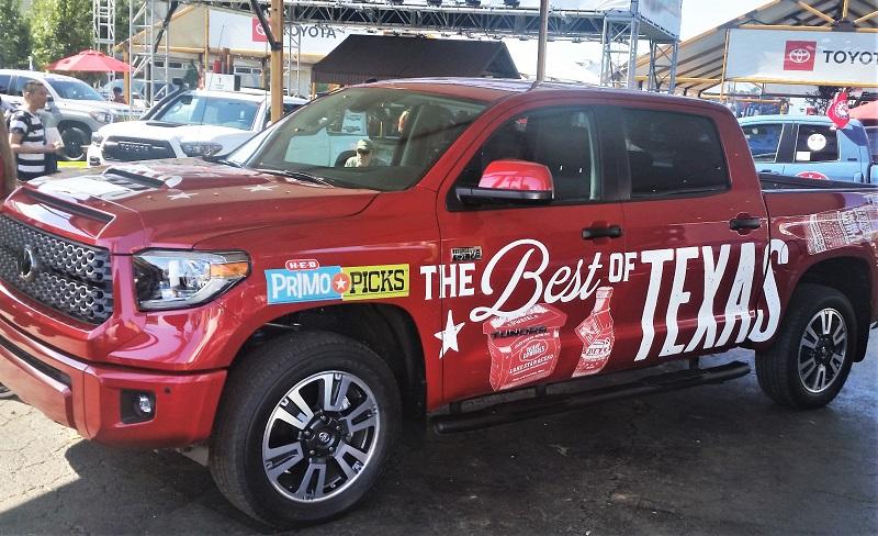 Toyota Tundra HEB